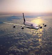 L'A380, l'avion le plus gros et le plus moderne jamais construit.