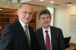 Rencontre avec le Ministre argentin des Affaires Etrangères, Héctor Tinmerman dans son bureau du Palacio San Martin, Buenos Aires, 10 Octobre 2012