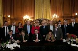 Rencontre avec les représentants des groupes parlementaires de députés et sénateurs du Front pour la victoire, Congrès de la Nation Argentine, Buenos Aires, 11 Octobre 2012