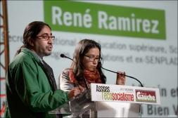 René Ramirez, ministre équatorien de l'éducation