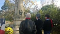 Cérémonie du 11 novembre à Foutric (Lot-et-Garonne)
