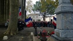Cérémonie du 11 novembre à Barbaste (Lot-et-Garonne)