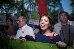 Catarina Martins, nouvelle coordinatrice du Bloco de Esquerda