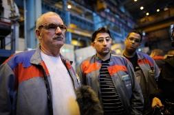 Aux côtés des ouvriers de PSA et Alstom en Franche-Comté