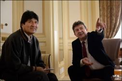 Rencontre avec Evo Morales