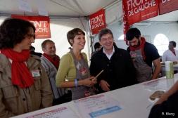 Stand du Parti de Gauche