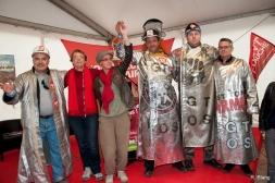 Avec les ouvriers d'ArcelorMittal de Fos-sur-Mer