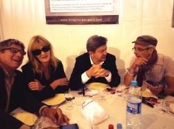 Repas avec Marie-Pierre Vieu et David Pellicer