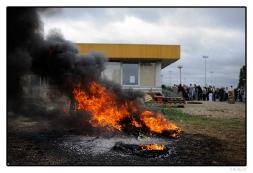 Soutien aux salariés en grève des Fonderies du Poitou Aluminium