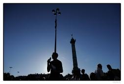 Les indignés de La Bastille