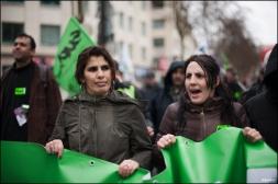 Manifestation contre le projet de loi