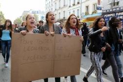 Manifestations pour Léonarda et Khatchik