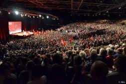 9000 personnes au meeting de Clermont-Ferrand