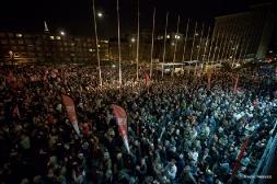 Préparation militante et meeting du Front de Gauche à Lille