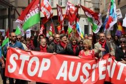 Perpignan rouge contre l'austérité et la finance