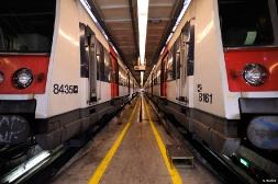 Visite aux ateliers de réparation de la RATP à Massy dans l'Essonne
