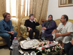 Rencontre avec la famille de Mohamed Brahmi