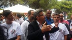 Visite de soutien aux salariés de Nexcis en lutte