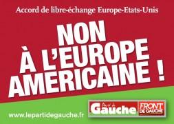 Non à l'Europe Américaine !