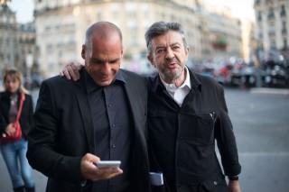 Rencontre Varoufakis et Mélenchon - 23.08.2015